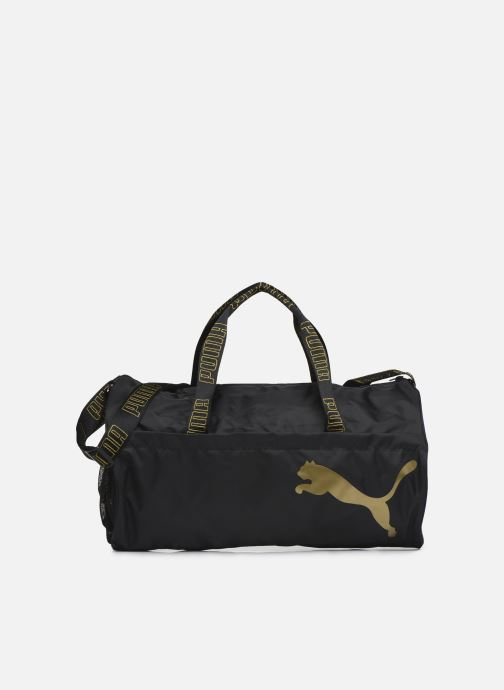 Bolsas de deporte Puma AT ESS BARREL BAG Negro vista de detalle / par