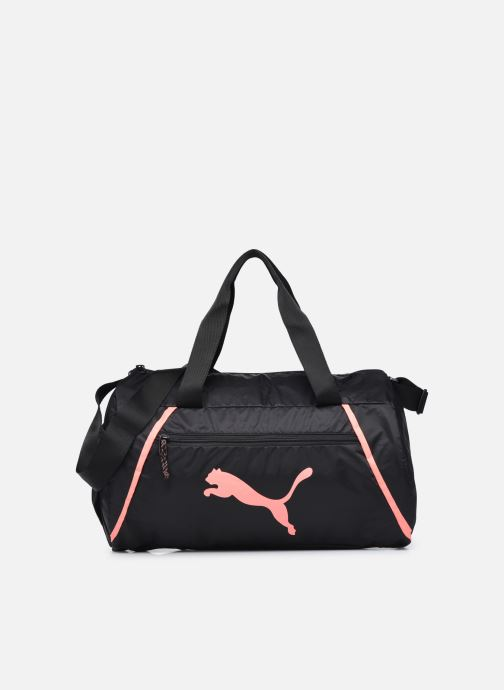 Sporttassen Puma AT ESS BARREL BAG Zwart detail