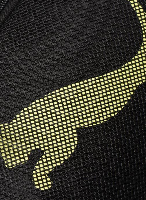 Sporttaschen Puma AT ESS BARREL BAG schwarz ansicht von links