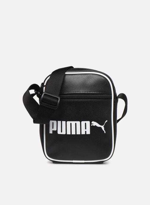 Sacs homme Puma CAMPUS PORTABLE RETRO Noir vue détail/paire