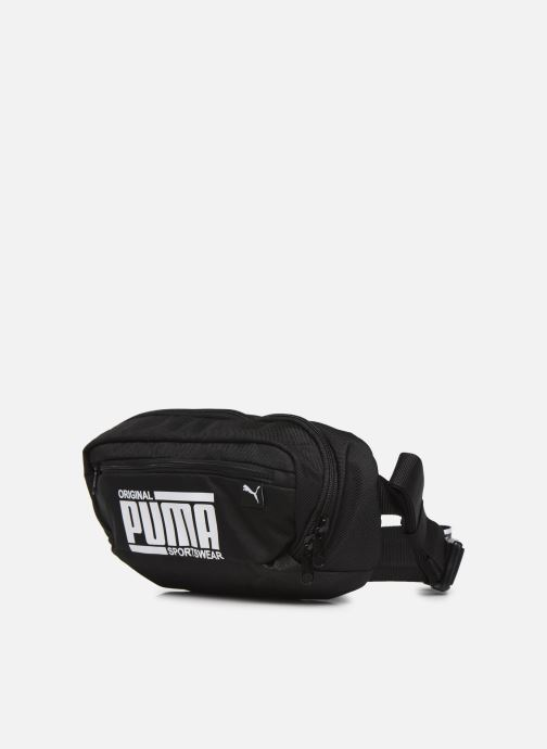 Petite Maroquinerie Puma SOLE WAIST BAG Noir vue portées chaussures