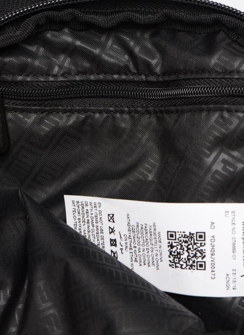 Herrentaschen Puma BMW M MOTORSPORT S PORTABLE schwarz ansicht von hinten
