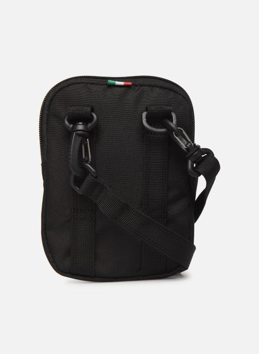 Herrentaschen Puma SF FANWEAR MINI PORTABLE schwarz ansicht von vorne