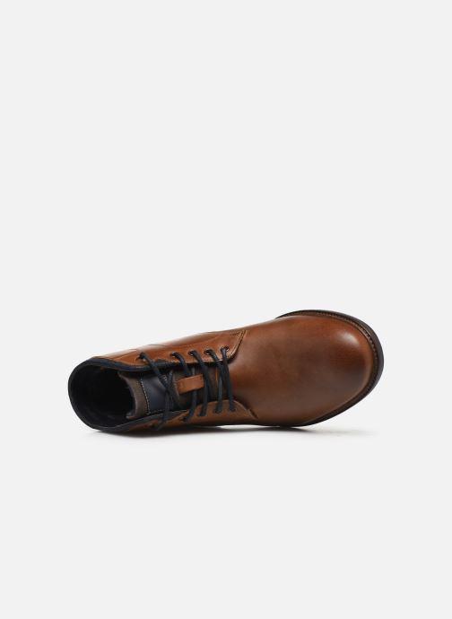 Bottines et boots Roadsign GRUNCHY Marron vue gauche
