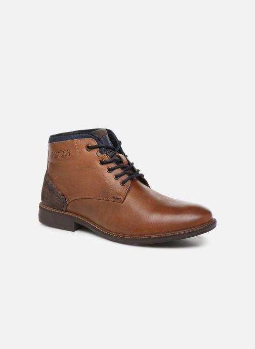Boots en enkellaarsjes Roadsign GRUNCHY Bruin detail