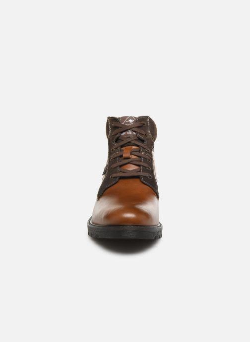 Bottines et boots Roadsign GRECE Marron vue portées chaussures