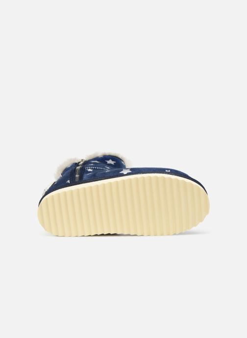 Botas Pepe jeans Angel Print Azul vista de arriba