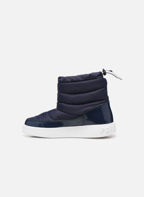 Ankelstøvler Pepe jeans Brixton Girl Nylon Blå se forfra