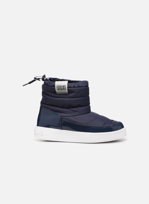 Ankelstøvler Pepe jeans Brixton Girl Nylon Blå se bagfra