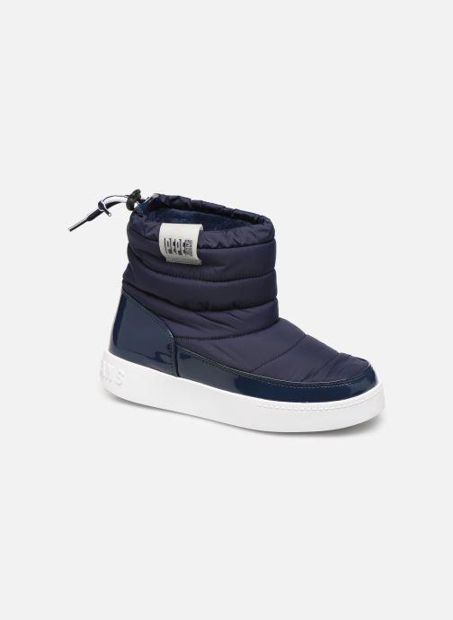 Bottines et boots Pepe jeans Brixton Girl Nylon Bleu vue détail/paire
