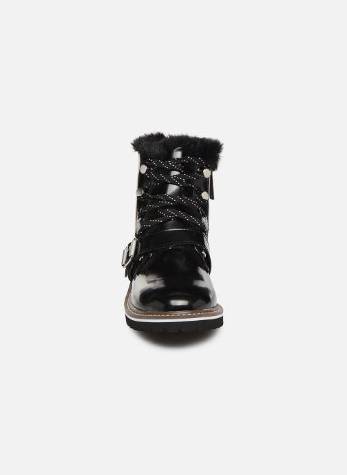 Bottines et boots Pepe jeans Leia Buckle Noir vue portées chaussures