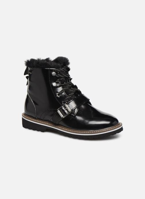 Bottines et boots Pepe jeans Leia Buckle Noir vue détail/paire