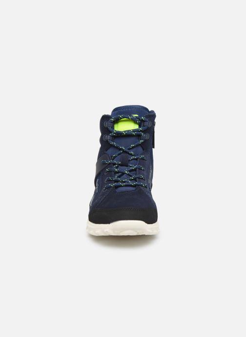 Baskets Pepe jeans Arcade Trek Bleu vue portées chaussures