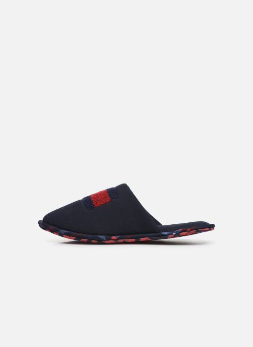Slippers Tommy Hilfiger FLAG BADGE HOMESLIPPER Blue front view