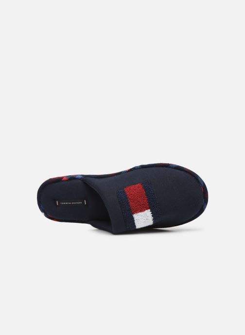 Slippers Tommy Hilfiger FLAG BADGE HOMESLIPPER Blue view from the left