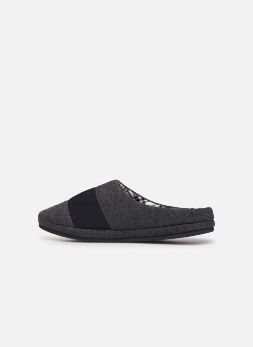 Chaussons Tommy Hilfiger JERSEY HOMESLIPPER Gris vue face