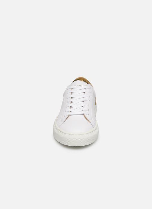 Baskets Canal St Martin EUGENE Blanc vue portées chaussures
