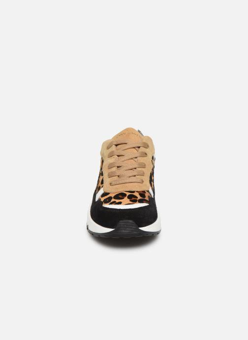 Baskets Canal St Martin JACQUES Beige vue portées chaussures