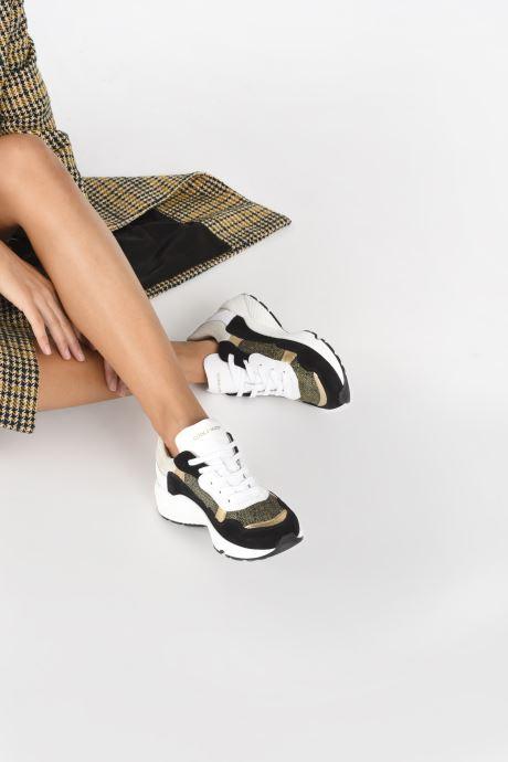 Sneaker Canal St Martin JACQUES schwarz ansicht von unten / tasche getragen