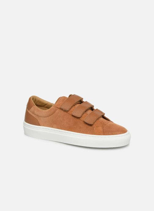 Sneakers Canal St Martin MALTE Bruin detail