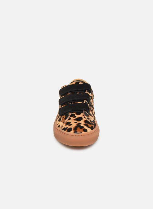 Baskets Canal St Martin MALTE Beige vue portées chaussures
