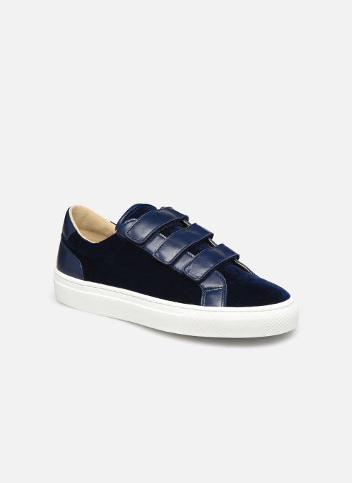 Sneakers Canal St Martin MALTE Blå detaljeret billede af skoene