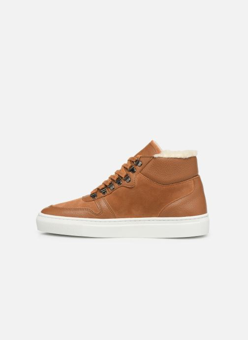 Sneakers Canal St Martin LEON Brun se forfra