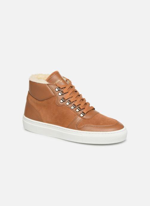 Sneakers Canal St Martin LEON Brun detaljeret billede af skoene