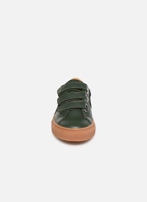 Baskets Canal St Martin JULES Vert vue portées chaussures