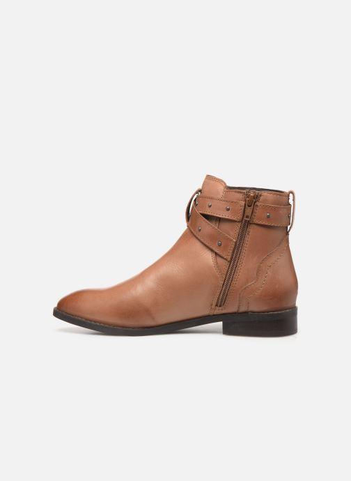 Bottines et boots Esprit 089EK1W019 BESS STRAP BOOT Marron vue face