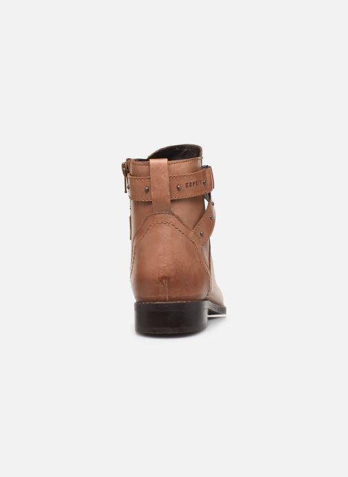 Bottines et boots Esprit 089EK1W019 BESS STRAP BOOT Marron vue droite