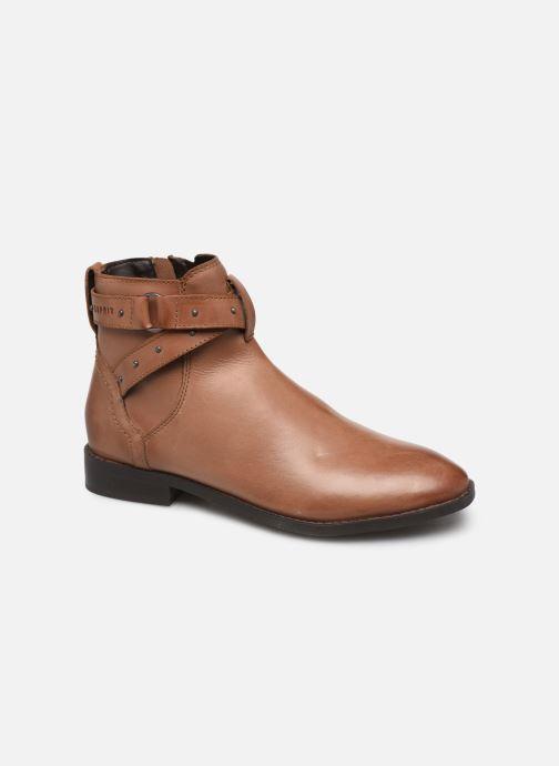 Bottines et boots Esprit 089EK1W019 BESS STRAP BOOT Marron vue détail/paire