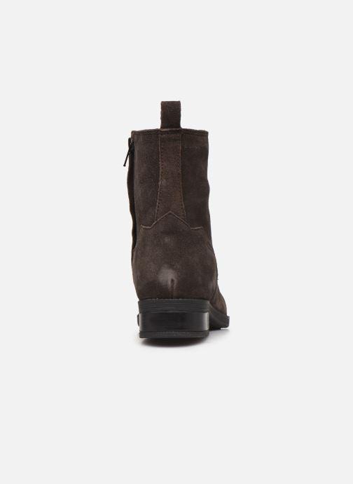 Bottines et boots Esprit 089EK1W021 Marron vue droite
