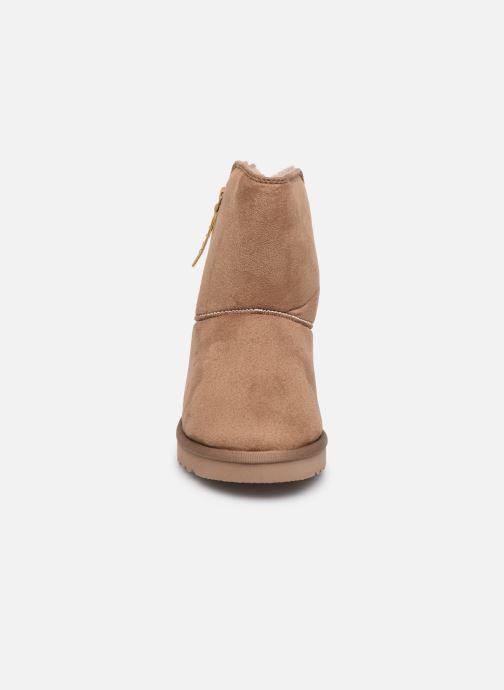 Bottines et boots Esprit 099EK1W037 Beige vue portées chaussures