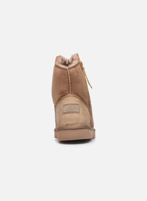 Bottines et boots Esprit 099EK1W037 Beige vue droite