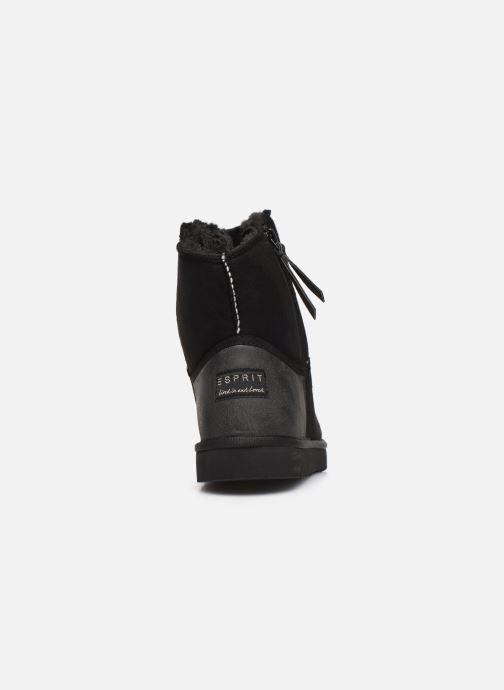 Bottines et boots Esprit 099EK1W037 Noir vue droite