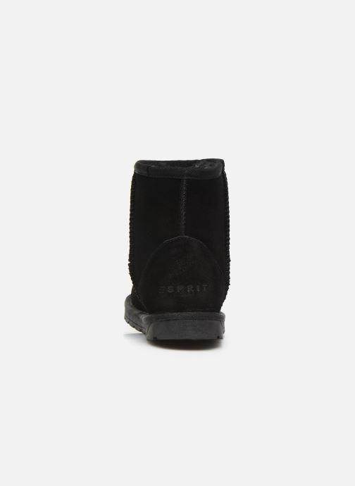 Bottines et boots Esprit 109EK1W010 Noir vue droite