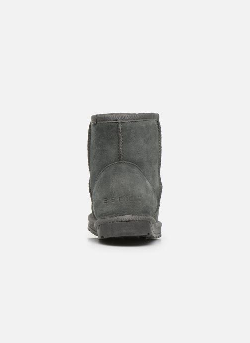 Bottines et boots Esprit 109EK1W010 Gris vue droite