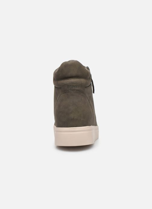 Sneakers Esprit 099EK1W033 Verde immagine destra