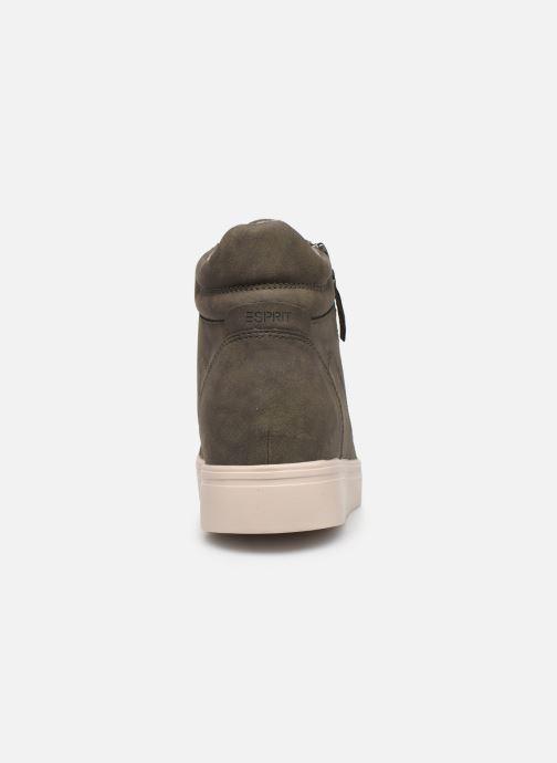 Sneaker Esprit 099EK1W033 grün ansicht von rechts