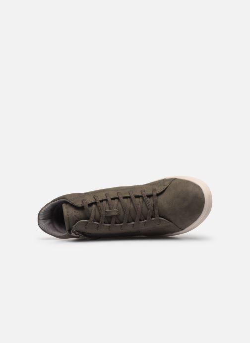 Sneaker Esprit 099EK1W033 grün ansicht von links