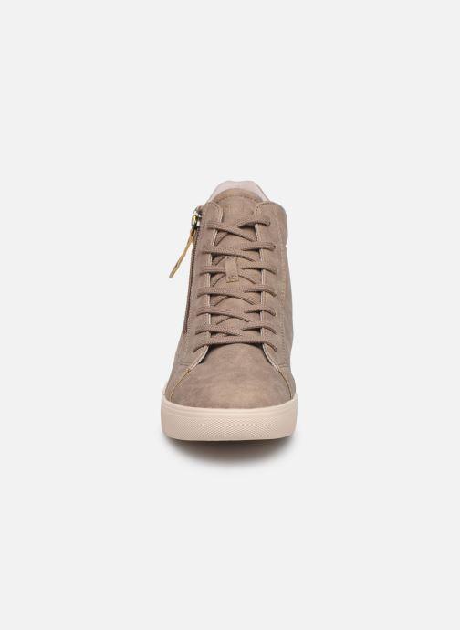 Baskets Esprit 099EK1W033 Beige vue portées chaussures