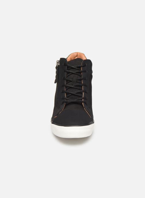 Sneaker Esprit 089EK1W033 schwarz schuhe getragen