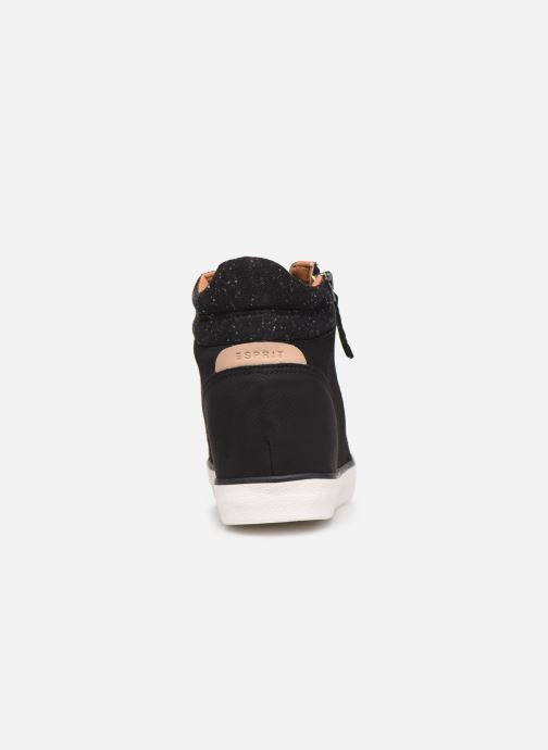 Sneaker Esprit 089EK1W033 schwarz ansicht von rechts