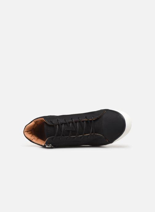 Baskets Esprit 089EK1W033 Noir vue gauche