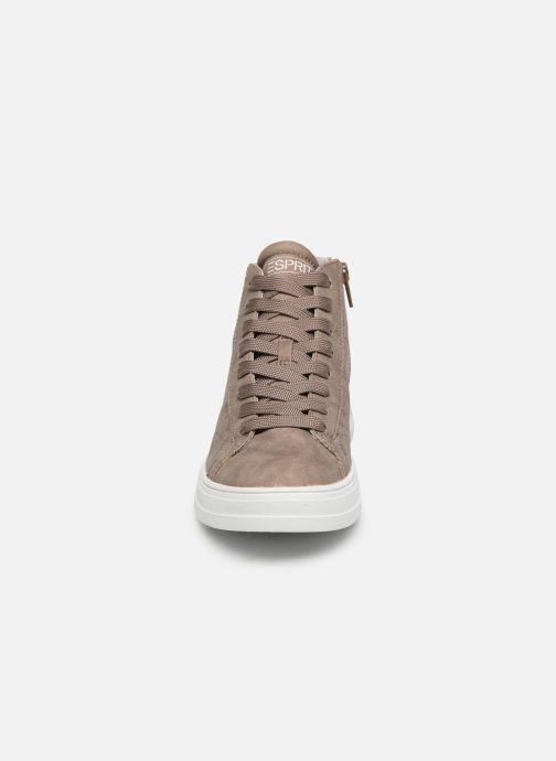 Baskets Esprit 089EK1W027 Marron vue portées chaussures