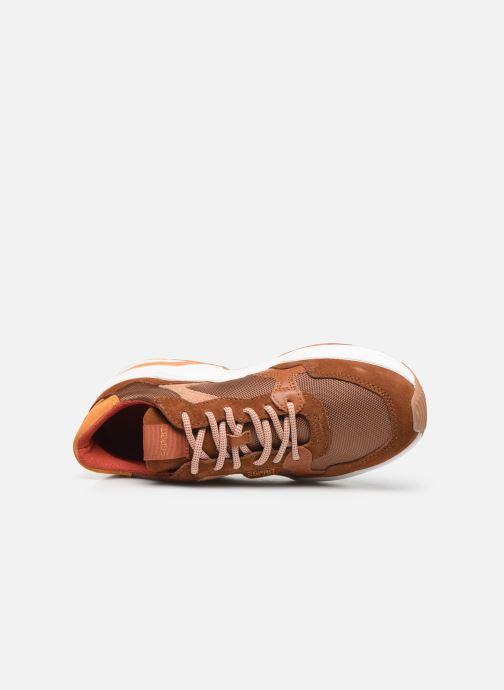 Sneaker Esprit 089EK1W029 braun ansicht von links