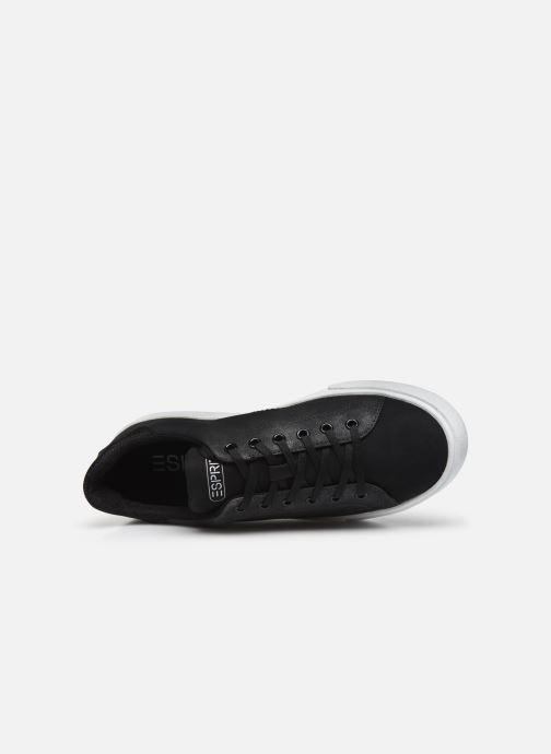 Baskets Esprit 089EK1W039 Noir vue gauche