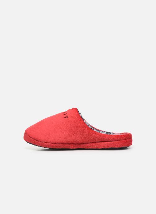Pantuflas Esprit 109EK1W026 Rojo vista de frente