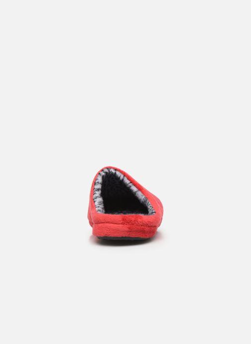 Pantuflas Esprit 109EK1W026 Rojo vista lateral derecha
